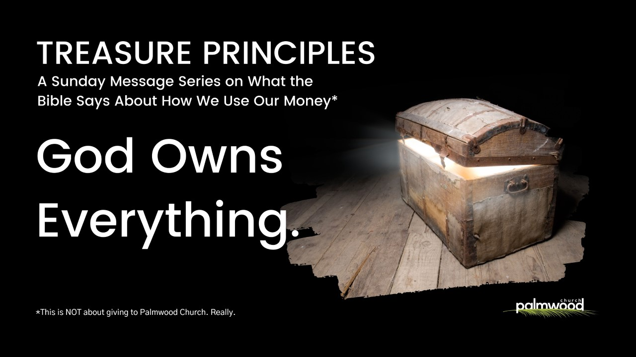 Treasure Principles - We Are Blessed to Be a Blessing
